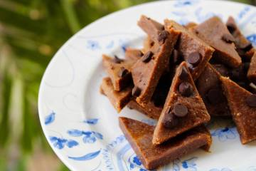 Healthy Vegan Fudge Bites