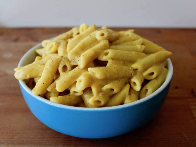 potato carrot mac and cheese sauce