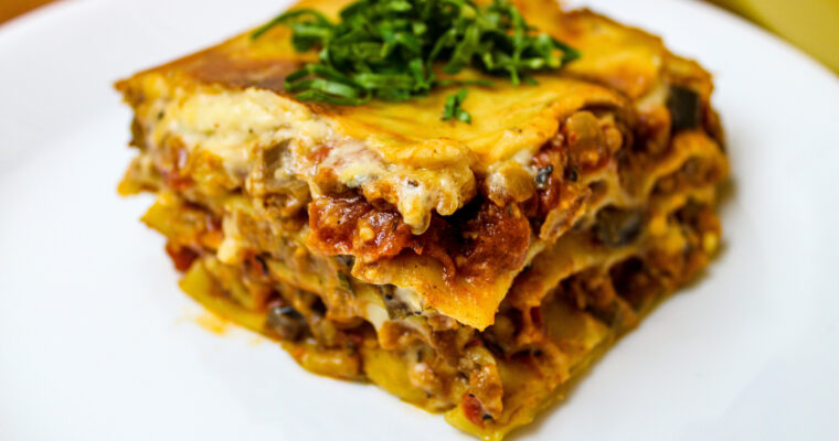 Best Damn Loaded Lasagna, 100% Vegan